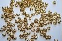 Coprischiaccini Colore Oro 3mm - 72pz