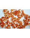 30 Perline Tulip Petals 6x8mm Jet Sliperit Col.029500