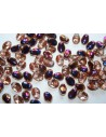 30 Perline Tulip Petals 6x8mm Crystal AB Col.28701