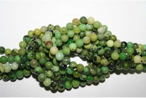Chrysoprase Beads Sphere 6mm - 64pz