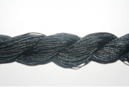 Black Nylon Thread 1mm - 25m