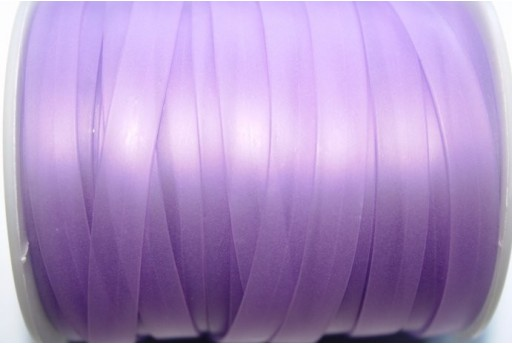 Flat Rubber Cord Lavender 8x1mm - 1m