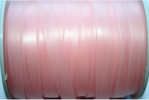 Flat Rubber Cord Pink 8x1mm - 1m
