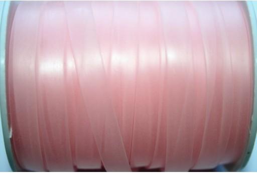 Flat Rubber Cord Pink 8x1mm - 1m