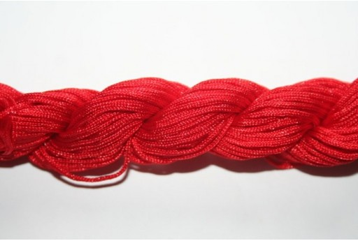 Red Nylon Thread 1mm - 25m MIN95G