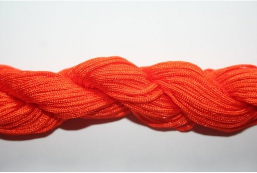 Orange Nylon Thread 1mm - 25m MIN95L
