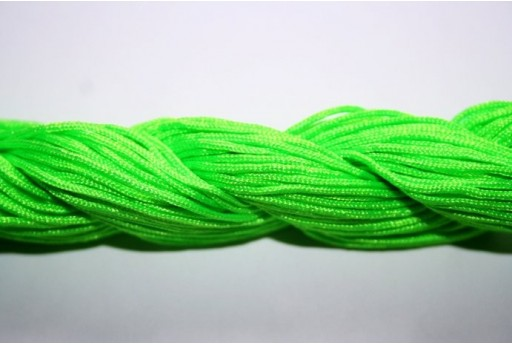 Bright Green Nylon Thread 1mm - 25m MIN95M