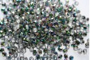 Perline Mezzi Cristalli Crystal/Vitral 4mm - 60pz