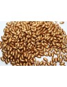 Perline Rizo 2,5x6mm, 10gr., Matte Brass Gold Col.01740AL