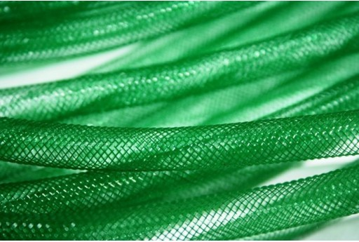 Nylon Mesh Tube 8mm Green - 2m MIN155D