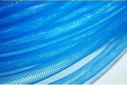 Rete Tubolare in Plastica 2mt. Azzurro 8mm MIN155P