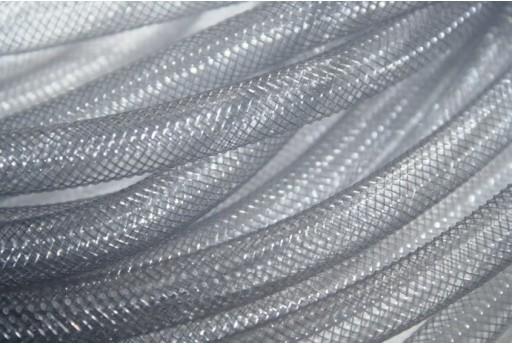 Rete Tubolare in Plastica 2mt. Grigio Chiaro 8mm MIN155Q
