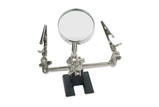 Helping Hands with Magnifier Lens