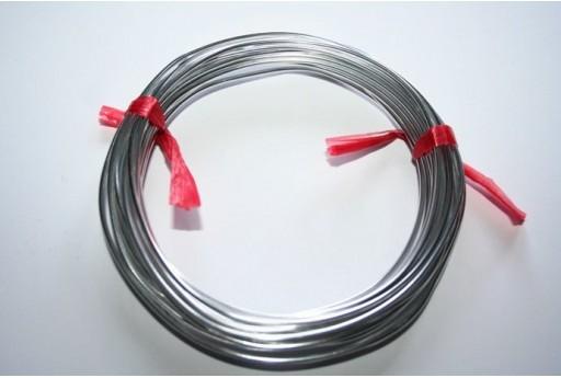 Filo Alluminio Colore Argento 1,5mm - 6mt