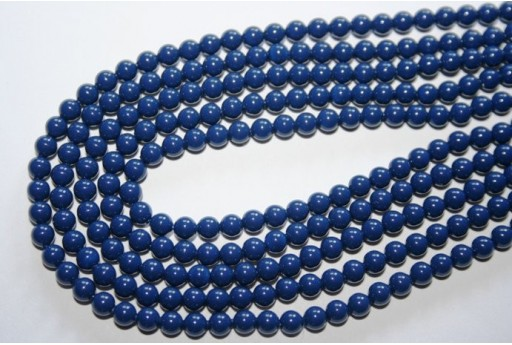 Swarovski Pearls Crystal Dark Lapis 5810 4mm - 20pcs