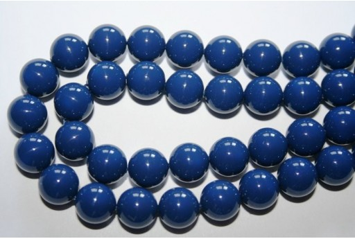 Swarovski Pearls Dark Lapis 5810 10mm - 4pcs