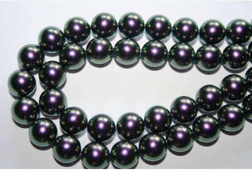 Swarovski Pearls Iridescent Purple 5810 10mm - 4pcs