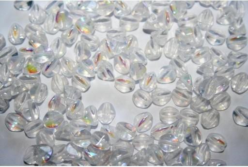 Perline Pinch Beads Crystal AB 7mm - 10gr