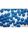 Perline Mezzi Cristalli Opaque Blue 8mm - 25pz