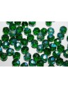 Perline Mezzi Cristalli Emerald AB 8mm - 25pz