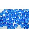 Fire Polished Beads Sapphire 8mm - 25pz