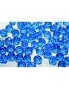 Perline Mezzi Cristalli Sapphire 8mm - 25pz