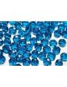 Perline Mezzi Cristalli Capri Blue 8mm - 25pz
