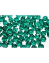 Perline Mezzi Cristalli Teal 8mm - 25pz