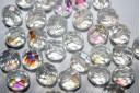 Perline Mezzi Cristalli Crystal AB 10mm - 15pz