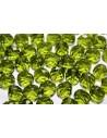 Perline Mezzi Cristalli Olivine 10mm - 15pz