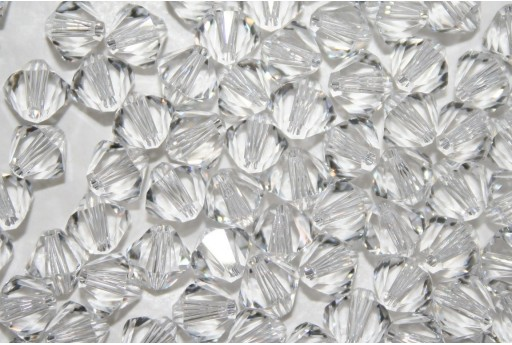 Swarovski Bicones 6mm 6pcs Crystal 53286001