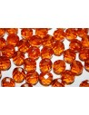 Perline Mezzi Cristalli Topaz 10mm- 15pz