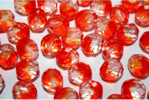 Perline Mezzi Cristalli Crystal/Hyacinth 10mm - 15pz