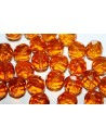 Perline Mezzi Cristalli Topaz 12mm - 10pz