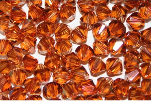 Bicono Swarovski Crystal Copper 6mm, 6Pz. COP
