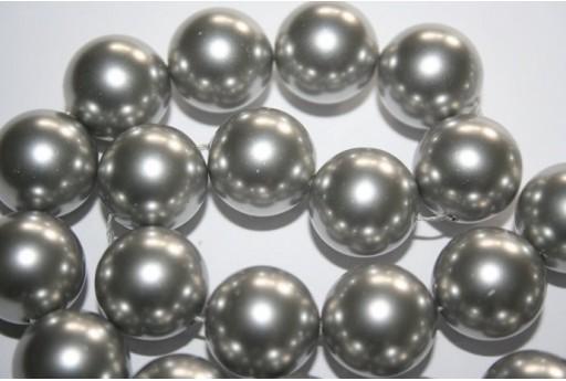 Swarovski Pearls 5811 Light Grey 14mm - 2pcs