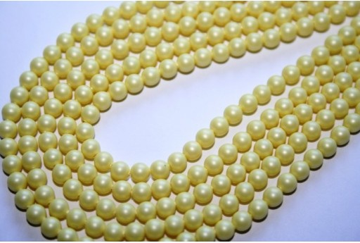 Perle Swarovski Crystal Pastel Yellow 5810 4mm - 20pz