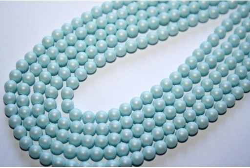 Swarovski Pearls Crystal Pastel Blue 5810 4mm - 20pcs