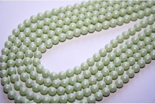 Perle Swarovski Crystal Pastel Green 5810 4mm - 20pz