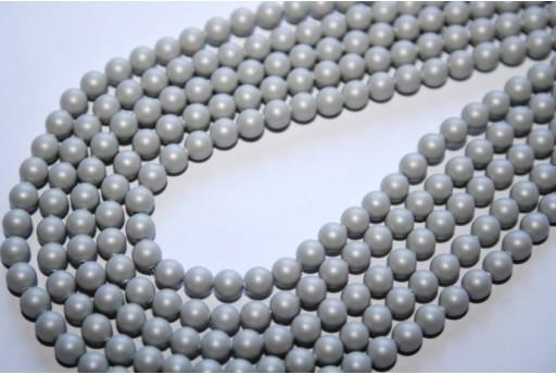 Perle Swarovski Pastel Grey 5810 4mm - 20pz