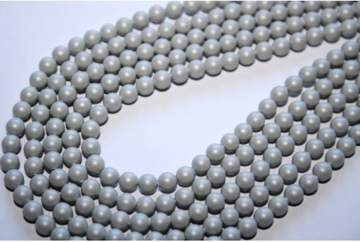 Swarovski Pearls Crystal Pastel Grey 5810 4mm - 20pcs