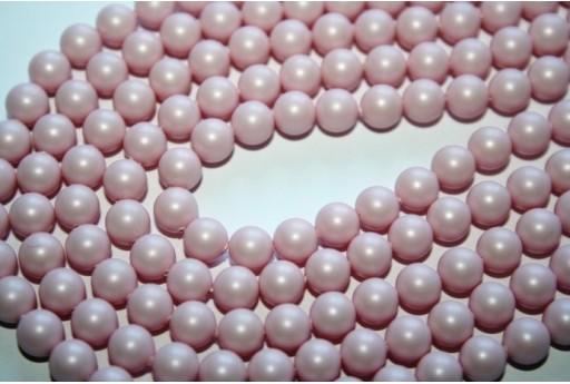 Perle Swarovski 6mm, 12pz., Crystal Pastel Rose