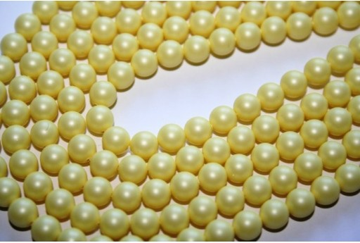 Swarovski Pearls 5810 Crystal Pastel Yellow 6mm - 12pcs