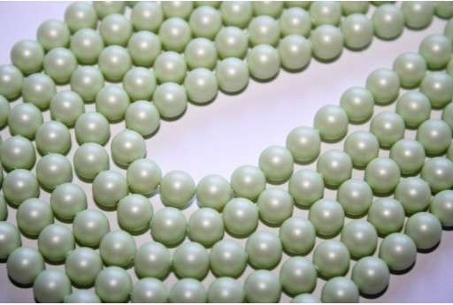 Swarovski Pearls 5810 Crystal Pastel Green 6mm - 12pcs