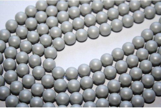 Swarovski Pearls 5810 Crystal Pastel Grey 6mm - 12pcs