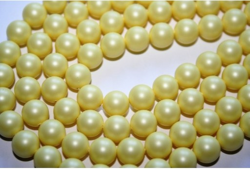 Swarovski Pearls Pastel Yellow 5810 8mm - 8pcs
