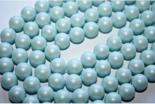 Swarovski Pearls Pastel Blue 5810 8mm - 8pcs