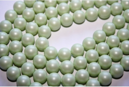 Swarovski Pearls Pastel Green 5810 8mm - 8pcs