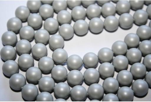Perle Swarovski Pastel Grey 5810 8mm - 8pz