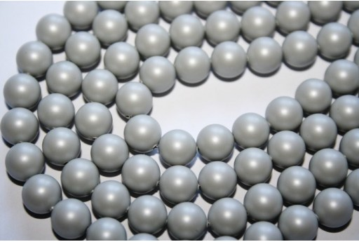 Swarovski Pearls Pastel Grey 5810 8mm - 8pcs